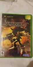 Shadow the Hedgehog (Microsoft Xbox, 2005) CIB Tested & Working Fast Ship