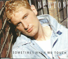 NEWTON Sometimes when we touch MIX & UNRELEASED CD single SEALED USA Seller 1996