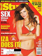 Stuff Magazine July 2002 IZABELLA SCORUPCO Cover Like New