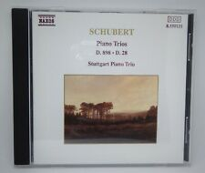 Schubert Piano Trios D. 898 - D. 28,Stuttgart Piano Trio CD,FAST UK/INTL P&P