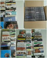001B Lot 1 44 Empty CD Jewel Cases Original Back Artwork Alternative Rock Mix