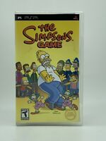 The Simpsons Game (Sony PlayStation PSP 2007) COMPLETE