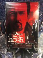 The 25th Hour DVD New/Sealed! twenty Spike Lee Edward Norton Seymour Hoffman