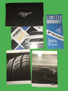 2020 FORD MUSTANG OWNERS MANUAL OEM KIT CONVERTIBLE COUPE V6 GT PREMIUM V8 17