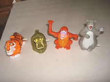 Jungle Book   4 Piece Complete Set  Lot  McDonalds Happy Meal Toys,1989
