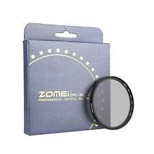 Genuine Zomei 58mm Slim CPL Circular Polarizer Polarizing Lens Filter