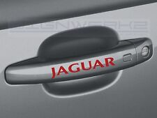 Jaguar Door Handle Decal Sticker logo f-type xj xf xe F Pace British - Set of 4