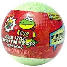 Ryan's World Green Apple Scented Fun Fizzer Bath Bomb