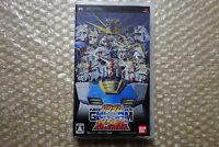 Mobile Suit Gundam Gundam VS. Gundam Sony PSP Region Free Japan Video Game