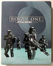 Rogue One: A Star Wars Story (Blu Ray 3D, Blu Ray, Bonus) Steelbook - NO DIGITAL