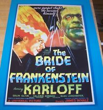 The Bride of Frankenstein Boris Karloff 11X17 Movie Poster