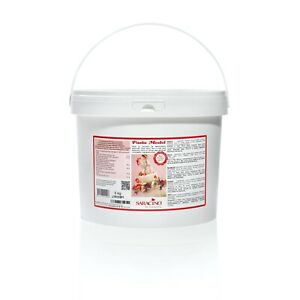 Saracino Award Winning Modelling Paste with Cocoa Butter Gluten Free White 5kg