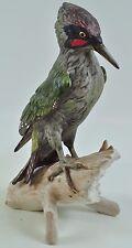 Göbel Grünspecht Vogel Bird Specht Woodpecker Bochmann signiert 3801026  08-D-GB
