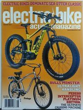 Electric Bike Action Magazine August 2017 Bulls Monster Pedego FREE SHIPPING sb