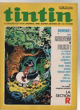 TINTIN n°1232 - 1972.  le journal. Edition française. Couverture MALO LOUARN