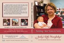 Reborn DVD painting Skintones and veins by  JACQUELINE KRAMER NEW SEALED)