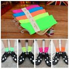 Casual Fluorescence Autumn Winter Solid Color Candy Color Long Neon Socks