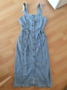 Women's Denim Dress - UK Size 8 - Denim & Co