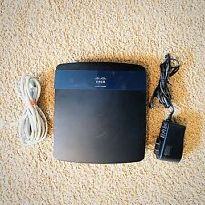 Cisco Linksys E3200 4-Port Gigabit Dual-Band Wireless N Router ~ 300Mbps