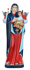 STATUE Madonna delle Merci avec les anges cm 180 Our Lady Of Miracles 5,90 pieds
