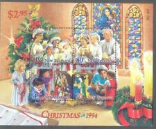 1994 New Zealand~Chirstmas~Unmounted Mint M/S~Stamp Set~ UK Seller