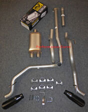 """13 - 15 Toyota Tacoma Cat-back Dual Exhaust Side Exit - w/ MagnaFlow 14"""" Body"""