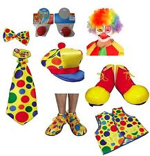Clowns Fancy Dress Outfit Lot Circus Clown Comedy Funny Costume Accessories