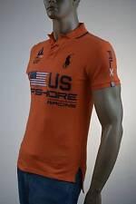 Ralph Lauren Custom Fit RLX Orange Offshore Racing Polo Shirt-XSmall- NWT