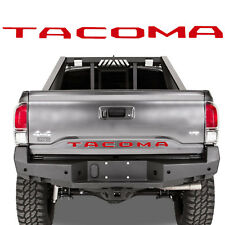 For 2016- 2018 Toyota Tacoma Rear Tailgate Insert Letter Sticker Glossy Red