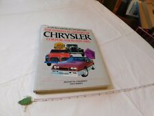 Complete History of the Chrysler Corporation 1924-1985 coffee table book auto
