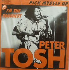 "7"" 1978 REGGAE IN MINT- ! PETER TOSH : Pick Myself Up"