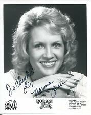NORMA JEAN COUNTRY MUSIC SINGER OF LETS GO ALL THE WAY SIGNED PHOTO AUTOGRAPH