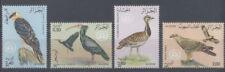 OISEAU Algérie 4 val de 1982 ** BIRD VOGEL UCCELLO