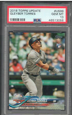 2018 Topps Update Gleyber Torres Rookie Card RC #US99 PSA 10 | New York Yankees