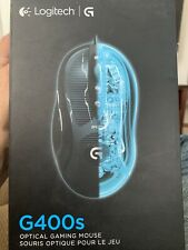 Logitech G400S 400-4000 dpi Wired Optical Gaming Mouse - Opened & Replaced