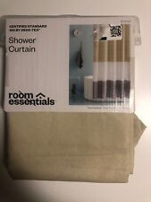Room Essentials Ombre Colorblock Fabric Shower Curtain 72x72 new #506
