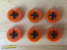 TTCombat BNIB – Small Wound Dials (Lava Orange) TTCM055