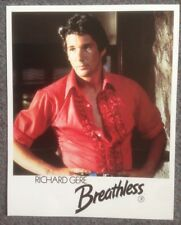 PHOTO OF RICHARD GERE FROM BREATHLESS