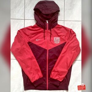 Authentic Nike Barcelona 2018/19 Zip-Up Windrunner Jacket. Size S, Exc Cond.