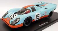 CMR 1/18 Scale Model Car CMR131-15 - Porsche 917K Race Car Gulf #15