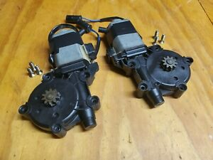 Rear Power Window Motors for BMW E30 Convertible - Left and Right