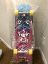 Santa Cruz Rob Roskopp ARMS ZIP UP Skateboard Hoodie BLACK LARGE