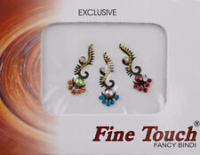 Bijoux de peau multicolore autocollant-bindi-Mariage oriental bollywood-6