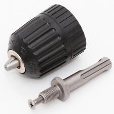 Schnellspannbohrfutter 3/8 Zoll x 24 UNF Spannweite 0,8 - 10 mm mit SDS-Adapter