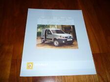 Renault Kangoo 4x4 Express folleto 09/2005 España
