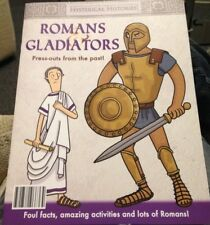 ROMANS And gladiators  hysterical histories press-outs from the past NEW