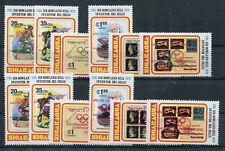 Nicaragua 2085/90 a + b postfrisch / Olympiade ...........................2/1953