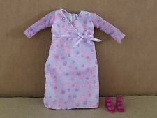 Mattel Barbie Happy Family Pregnant Midge Purple Dress + Jelly Shoes 2002