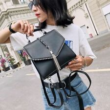 Small Fashion Leather Backpacks For Teenage Girls Shoulder School Backpack Bags