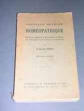 Homéopathie docteur Finella nouvelle méthode homéopathique 1939